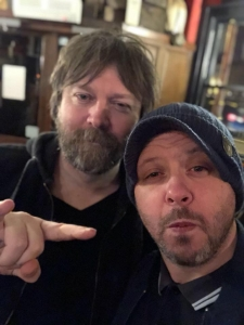 MoS Andy with Paul Draper of Mansun